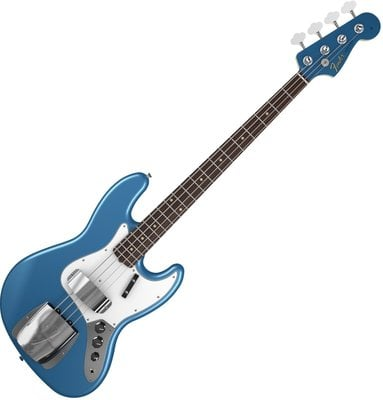 Fender American Vintage '64 Jazz Bass, Round-Laminated Rosewood Fingerboard, Lake Placid Blue