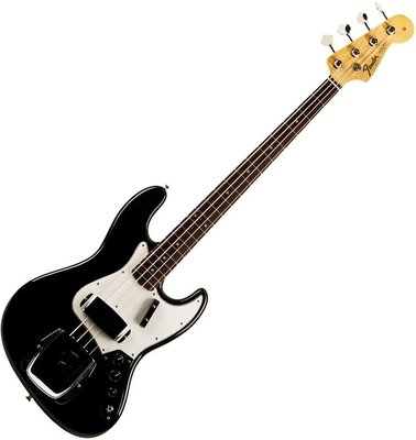 Fender American Vintage '64 Jazz Bass, Round-Laminated Rosewood Fingerboard, Black