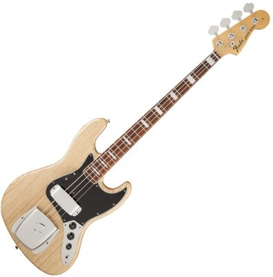 Fender American Vintage '74 Jazz Bass, Bound Round-Laminated Rosewood, Natural
