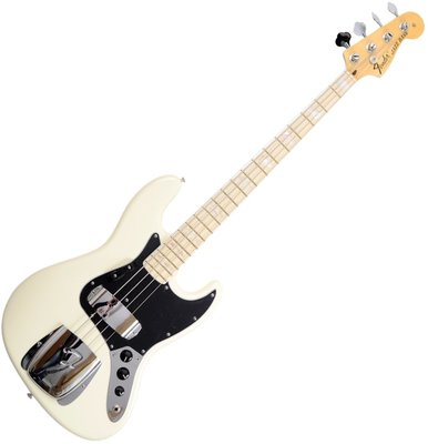Fender American Vintage '74 Jazz Bass, Maple Fingerboard, Olympic White