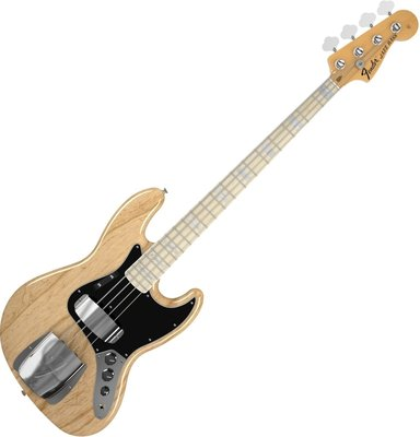 Fender American Vintage '74 Jazz Bass, Maple Fingerboard, Natural