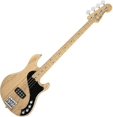 Fender American Deluxe Dimension Bass IV, Maple Fingerboard, Natural