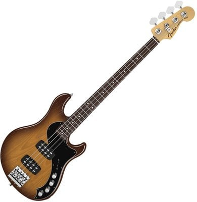 Fender American Deluxe Dimension Bass IV HH, Rosewood Fingerboard, Violin Burst