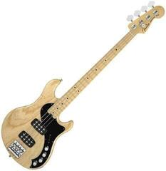 Fender American Deluxe Dimension Bass IV HH, Maple Fingerboard, Natural