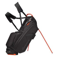 Taylormade Flextech Crossover Black/Blood Orange Stand Bag 2019
