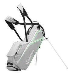 TaylorMade Flextech Lite Grey/Turquoise/White Stand Bag 2019