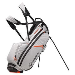 Taylormade Flextech Crossover Silver/Blood Orange Stand Bag 2019
