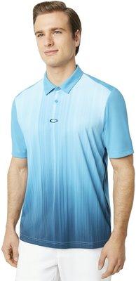 Oakley Infinity Line Pánské Golfové Polo Stormed Blue M