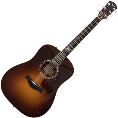 Taylor Guitars 710e Dreadnought Acoustic Electric Vintage Sunburst