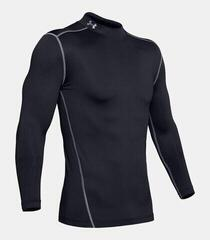 Under Armour ColdGear Compression Mock Mens Base Layer Black/Steel
