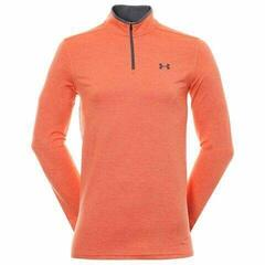Under Armour Playoff 2.0 1/4 Zip Mens Sweater Papaya