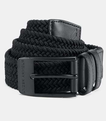 Under Armour Men's Braided 2.0 Belt Black 40