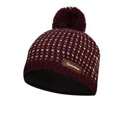 TaylorMade Ladies Bobble Beanie Burgundy 2019