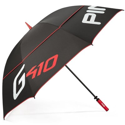 Ping G410 Double Canopy Umbrella Black/Scarlet/White
