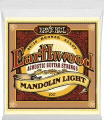 Ernie Ball 2067 Earthwood Mandolin Light Loop End Acoustic