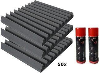 Mega Acoustic PA-PMK-4 50x50 Dark Gray SET