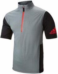 Adidas Climaproof Waterproof Short Sleeve Mens Jacket Vista Grey/Black