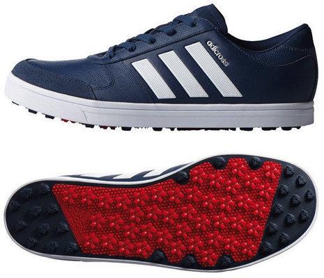 Adidas Adicross Gripmore 2.0 Mens Golf Shoes Mint Blue UK 9