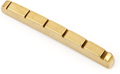 Fender Yngwie Malmsteen Pre-Slotted Brass String Nut