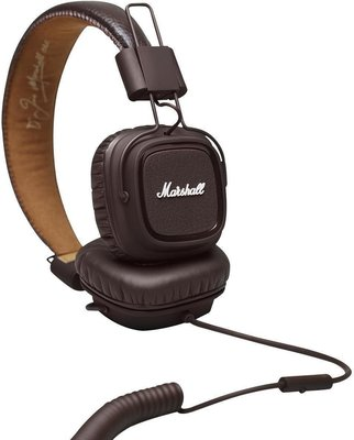 Marshall MAJOR BROWN Headphones closed