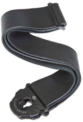 D'Addario Planet Waves 50PLL00 Leather Guitar Strap Black