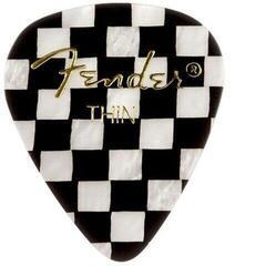 Fender 351 Shape Premium Pick Checker Thin
