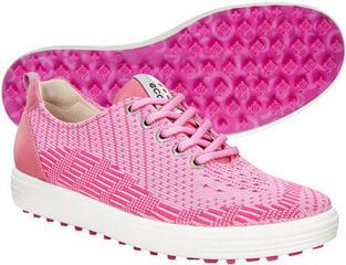 Ecco Casual Hybrid Womens Golf Shoes Pink/Fandango
