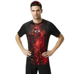 Oakley MTB SS Tech Tee Flames