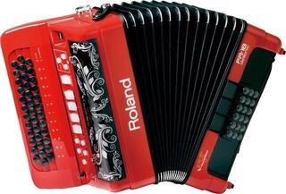 Roland FR18D-RD V-Accordion Diatonic Red