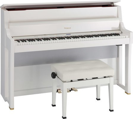 Roland LX15-PW Digital Piano with stand
