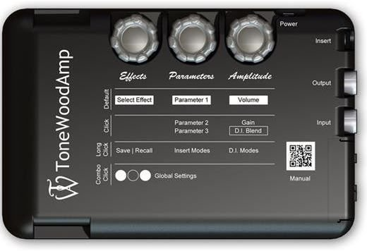 ToneWoodAmp MultiFX Acoustic Preamp-Demo