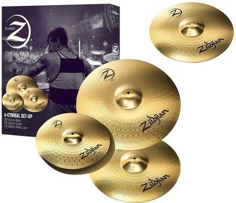 Zildjian Planet Z 4 Pack + 18'' Crashride