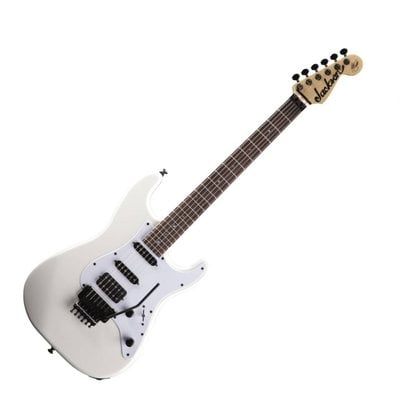 Jackson X Series Signature Adrian Smith SDX IL Snow White