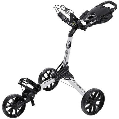 BagBoy Nitron White/Black Golf Trolley