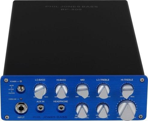 Phil Jones Bass BP-800 Compact Bass Amp Head 800 Watts