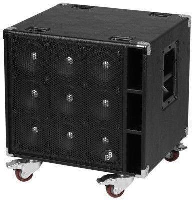 Phil Jones Bass C9 Compact 9 Bass Cabinet 9x5'' 900 Watts Black