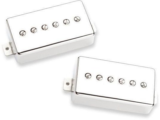 Seymour Duncan SSPH90-1S Phat Cat Humbucker P90 Pickup Set Nickel Cover