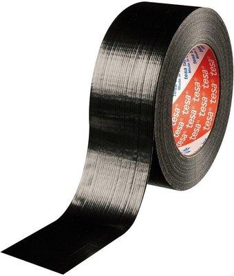 ADJ TESA Standard duct tape black 4613