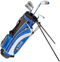 Longridge Junior Tiger Set 12-14 Years 4 Clubs Black/Blue