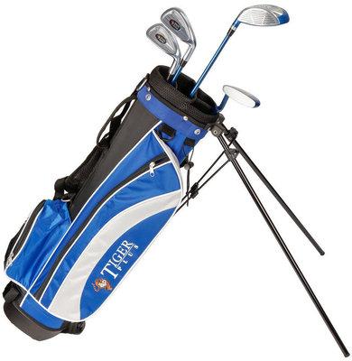 Longridge Junior Tiger Set 12-14 Years 4 Clubs Black/Blue