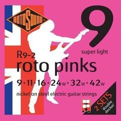 Rotosound R9-2 Roto Pinks 2-Pack