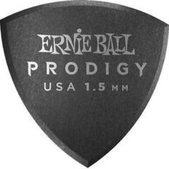 Ernie Ball Prodigy Pick 1.5 mm Black Larg Shield 6-Pack