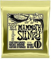 Ernie Ball 2214 Mammoth Slinky Nickel Wound 12 - 62 Gauge