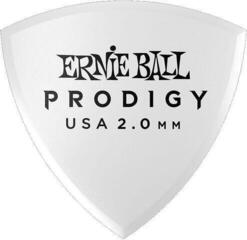 Ernie Ball Prodigy Pick 2.0 mm White Shield 6-Pack