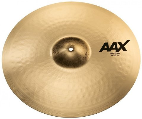 Sabian AAX 18 Thin Crash Brilliant