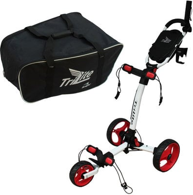 Axglo TriLite Trolley White/Red SET