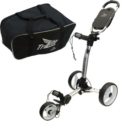 Axglo TriLite Trolley Silver/White SET