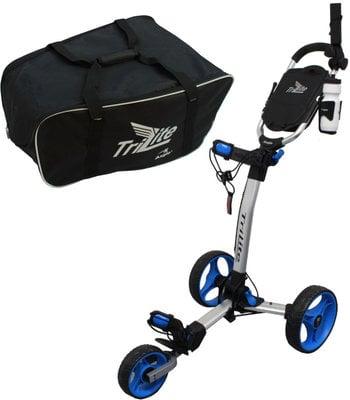 Axglo TriLite Trolley Grey/Blue SET