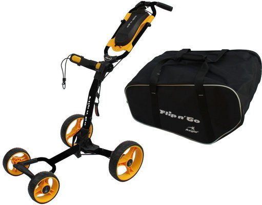 Axglo Flip N Go Trolley Black/Yellow SET