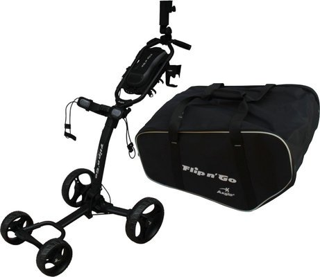 Axglo Flip N Go Trolley Black/Black SET